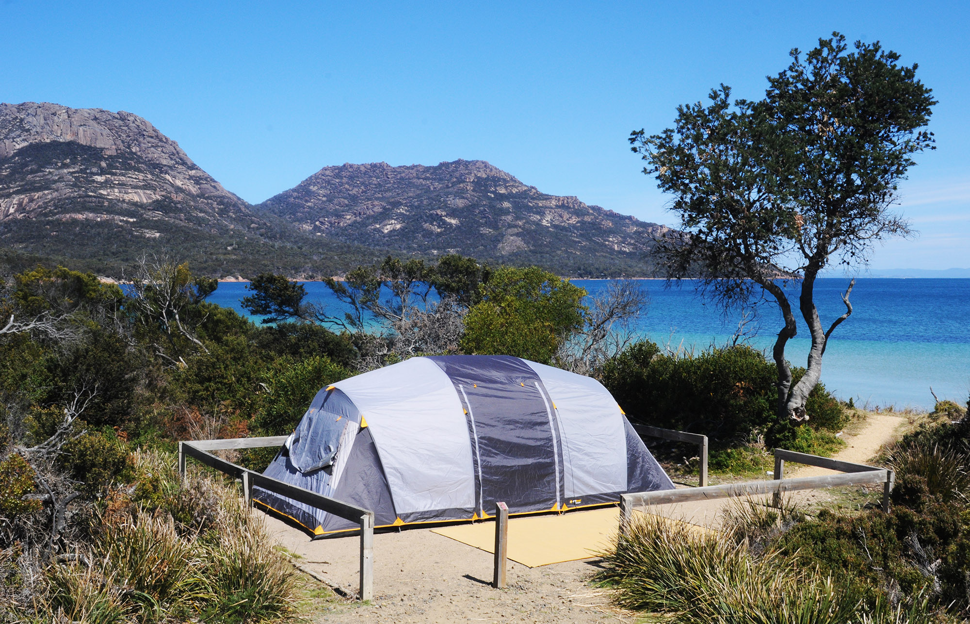 Richardsons Beach camping area