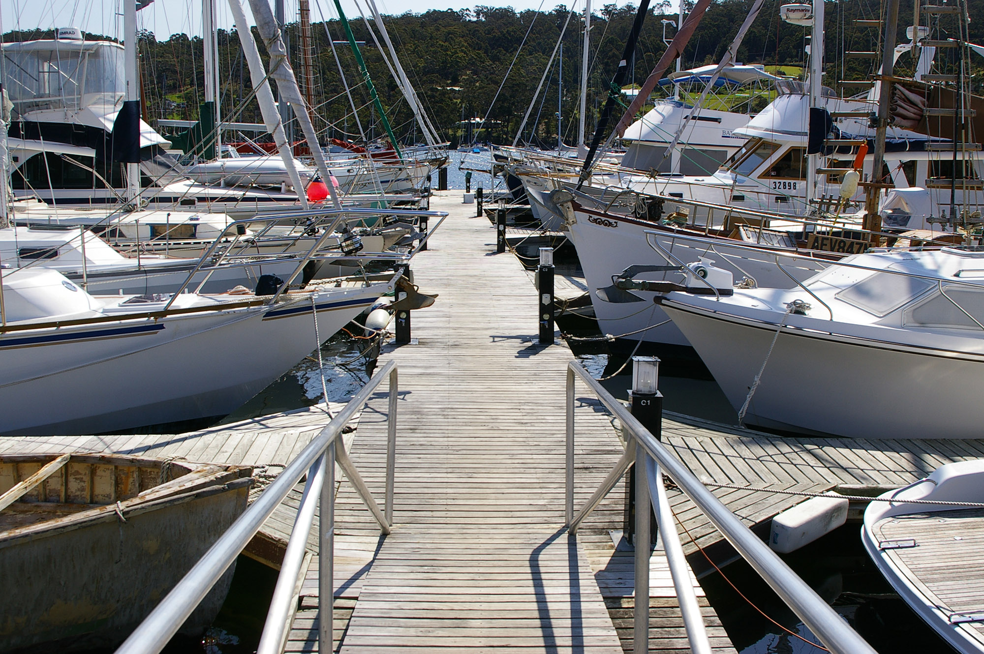 Boat docking leases