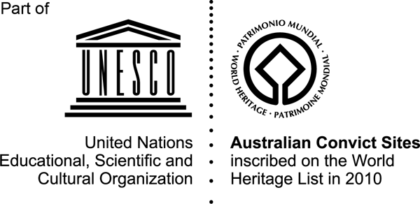 As part of the UNESCO Australian Convict Sites World Heritage Area​