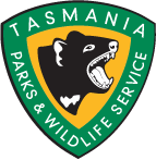 Logo for Parks and Wildlife Service Tasmania